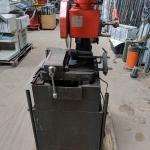 Eisele VMS 120 Metallkappsäge Kreissäge mit Rollbahnen