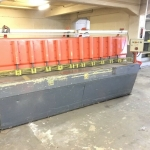 Wieger Blechschere 5mm Schneidleistung 2,6 m Schere